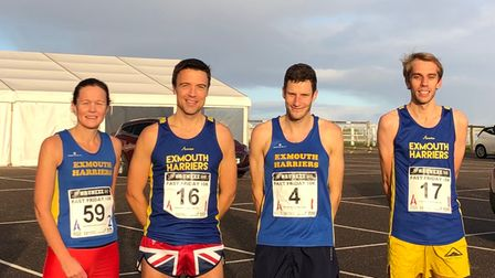 Exmouth Harriers Fast Friday