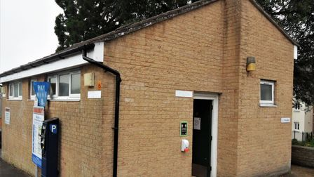 Axminster's West Street public toilets which are set to stay open longer.