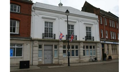 The former NatWest building in Market Place, Stowmarket