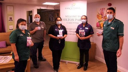 Twenty-three members of staff at Hilton Park care home in Bottisham were among the first to receive the Covid-19 vaccine.