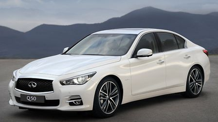 Infiniti Q50 takes the prestige brand into the compact sports saloon sector.