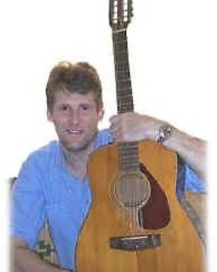 Tim Jefferson with a guitar. Tributes have been paid to the popular musician from Sheringham.