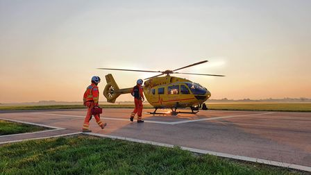 East Anglian Air Ambulance hit 30,000 helicopter missions this year