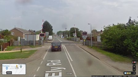 Queen Adelaide crossing, Ely, where an elderly lady died.