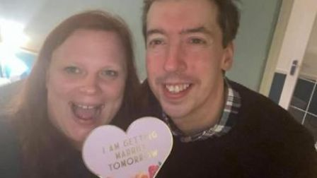 Paul Richards and Agata Wygnanska will tie the knot at The Church of Our Lady and the English Martyrs, in Hills Road, at...