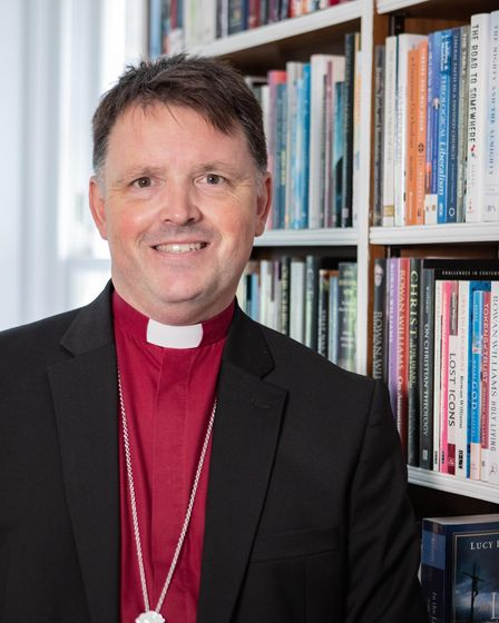 Bishop of Norwich Graham Usher becomes Patron of Norfolk Community Foundation. Picture: DIOCESE OF N