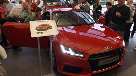 Norwich Audi previews the new TT Coupe which is now on sale.