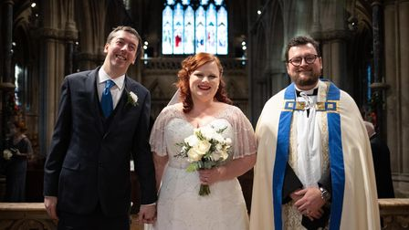 Paul Richards and Agata Wygnanska, of Cambridge, married today at The Church of Our Lady and the English Martyrs. They are...