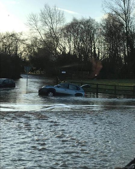 Andrew Piddington, a lorry driver from Watton, transported carers through flooded areas so they could continue caring for...