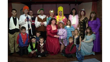 Bredfield panto, Snow White, from February 2002