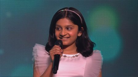 Souparnika Nair from Bury St Edmunds is set to appear in Britain's Got Talent: Christmas Spectacular on ITV at 8pm on...