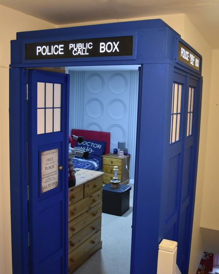 A Tardis from Doctor Who