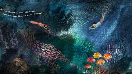 DorienBrouwers from Eye is publishing her second picture book, Sail. She has illustratedand written it