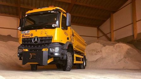 Suffolk Highways' gritter fleet is ready to tackle the ice on the county's roads this winter