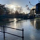 Pictures of flooding in Thetford's town centre on Sunday.