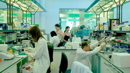 Queen Mary University medical research labs at Whitechapel