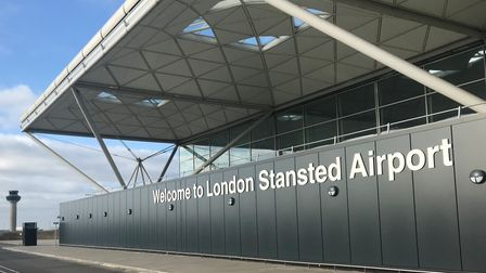 London Stansted's terminal building Picture: STANSTED AIRPORT