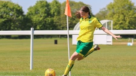 Former Wayland Academy student Reeanna Cook, whose midfield skills saw her scouted by Norwich City Women FC, will study at...