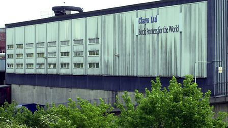 The Clays book printing plant in Bungay.
