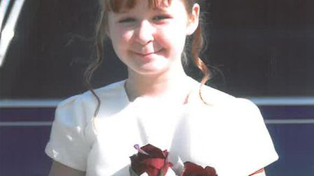 Jessica Portor, aged seven, who died when the Ford Focus she was travelling in veered off the A47 an