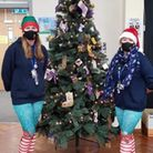 Mrs Doherty and Mrs Bowden, two members of staff at a pair of New Road and Park Lane Primary and Nursery Schools in...