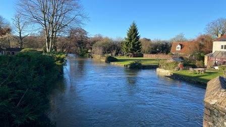 The Little Ouse River at Brandon
