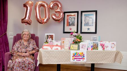 Margaret lives in a Halstead care home and recently celebrated a milestone birthday
