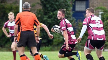 March Bears Rugby Club in action