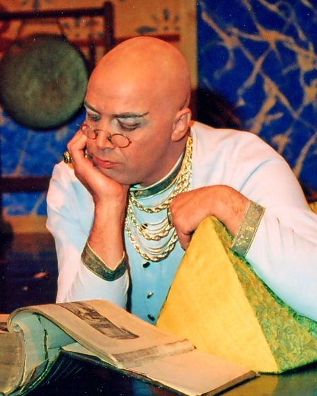 Peter Howell in a production of Peter in The King and I.