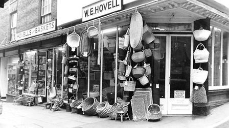 Hovells in Bedford Street pictured in January 1970.