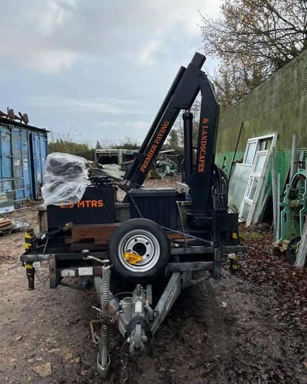 Premier Paving and Landscapes had over £25k worth of equipment stolen