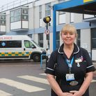 Jacky Copping MBE, deputy director of nursing at the James Paget University Hospital in Gorleston.