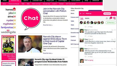 Join in the conversation on PinkUn Chat by clicking on the logo in the bottom-right of www.pinkun.co