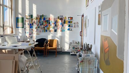 The first artist studios have been occupied at the Art Station