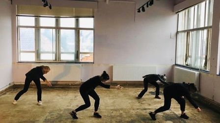 A new dance space will be used for rehearsals