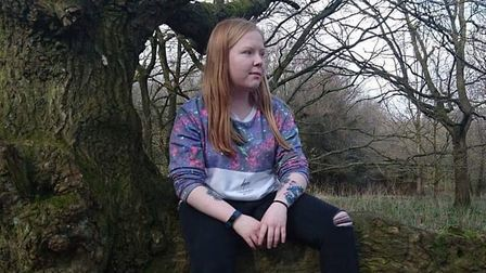 Ayesha Fordham from Bury St Edmunds who has been nominated for a national hero award