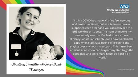 North West Anglia NHS Foundation Trust is looking back on a year of Covid-19 ahead of 2021.