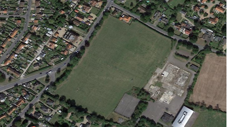 The care home and sports pitch are set to be built in Halesworth