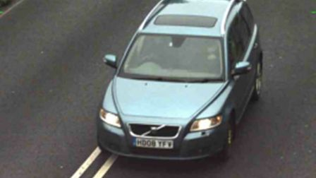 Police are also looking for Mr Ralph's car, a blue Volvo