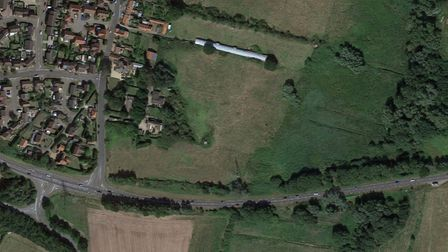 New homes could be built on land east of High Bungay Road, in Loddon.