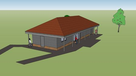 The new pavilion could help events be hosted in Melton