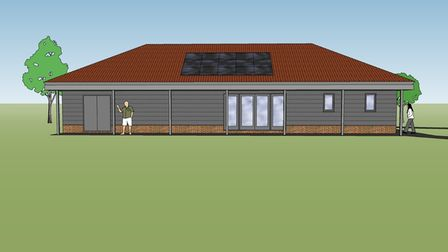 If approved work on the pavilion could begin in Spring