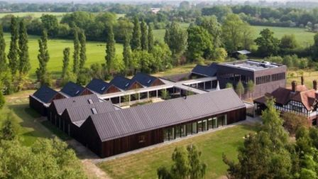 The retreat has now gone on the market