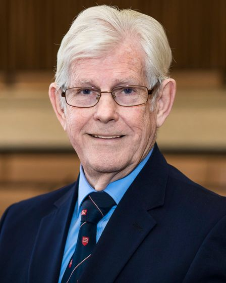 Leader of Essex County Council Cllr David Finch. PIcture: PAUL STARR