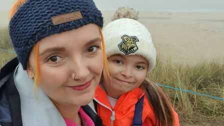 Nichol Nicholls and her daughter, Emily.