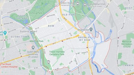 E3 postal district covering Bow, Bromley-by-Bow and Mile End