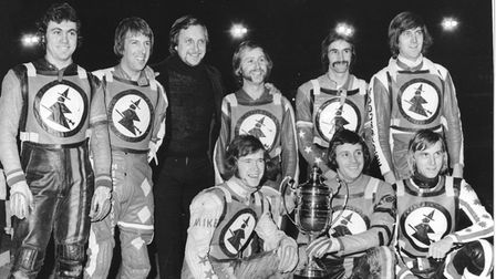 Flashback 1975.October. The Ipswich Speedway team won the division one championship with a mainly