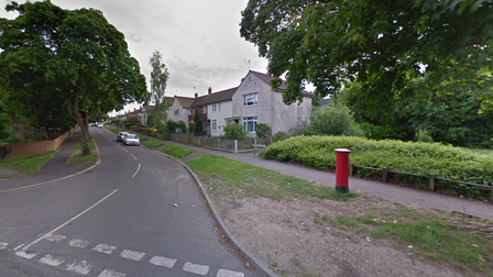 The postbox on Beeching Road, Norwich,was targeted twice in as many days in the build-up to Christmas.