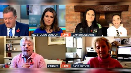 Brooke Scott appeared on Good Morning Britain with her mother Nikki Scott.