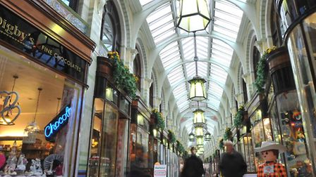 Norwich's much loved Royal Arcade.PHOTO BY SIMON FINLAY